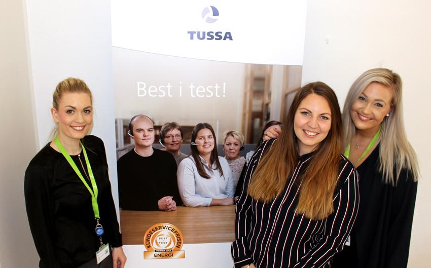 Gratulerer med ny jobb i Tussa!