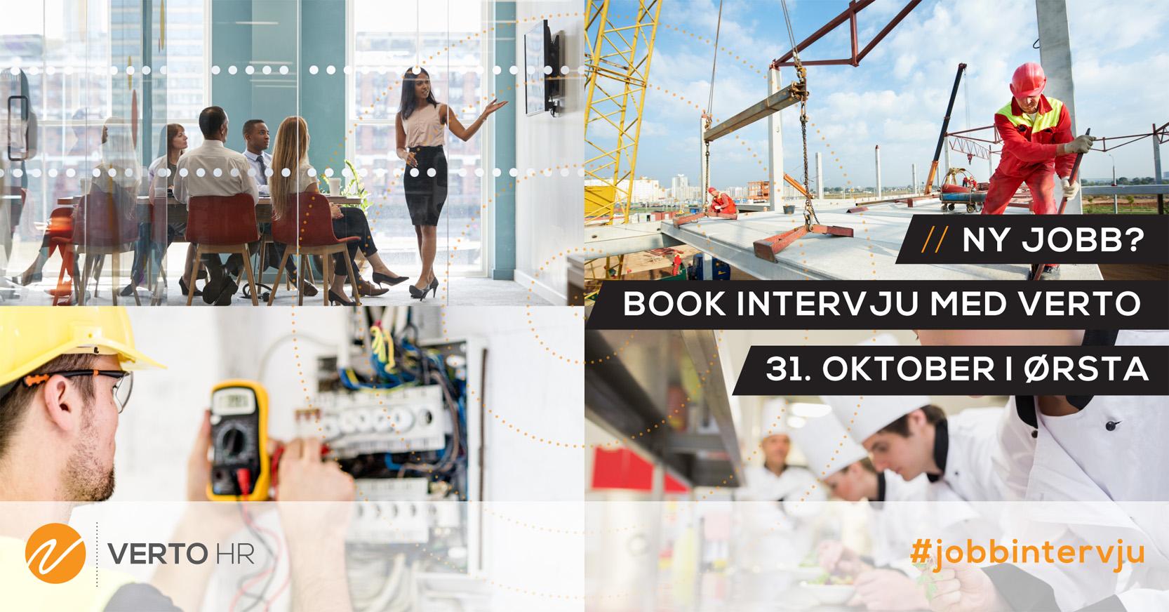 Book intervju med Verto i Ørsta