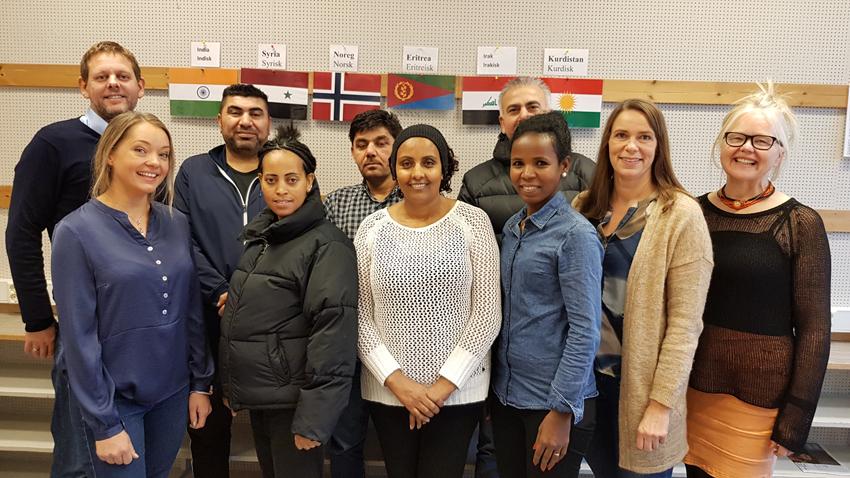 Hjelp til jobbsøkerprosessen for norskkurselever